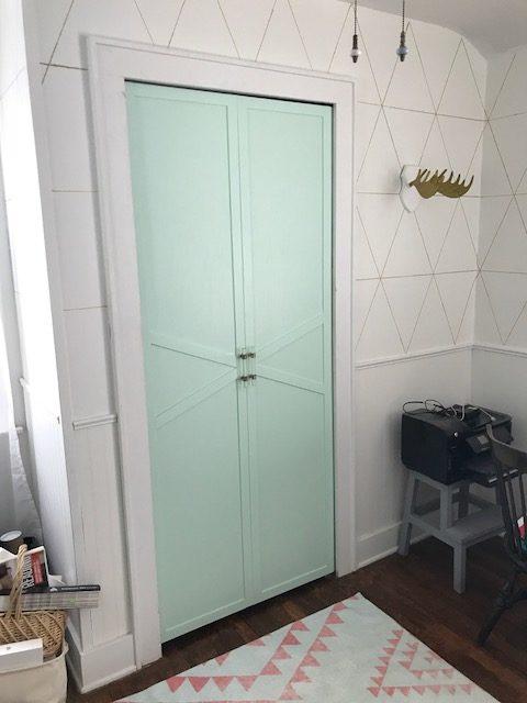 Closet Door DIY
