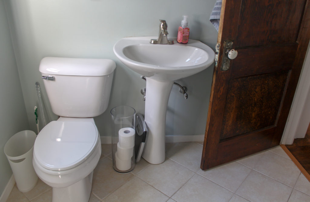 renovate outdated bathroom