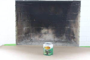 Paint Interior Fireplace