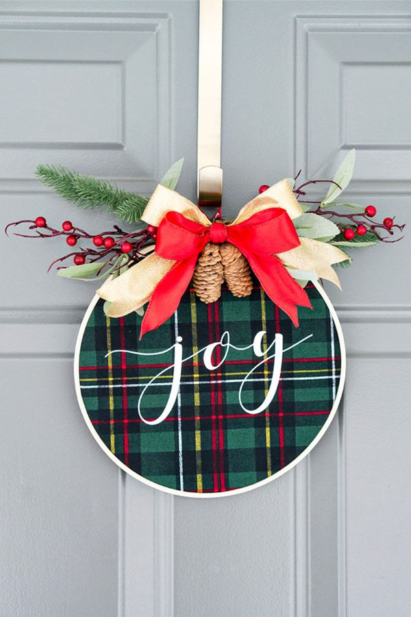 Decorate your door for Christmas