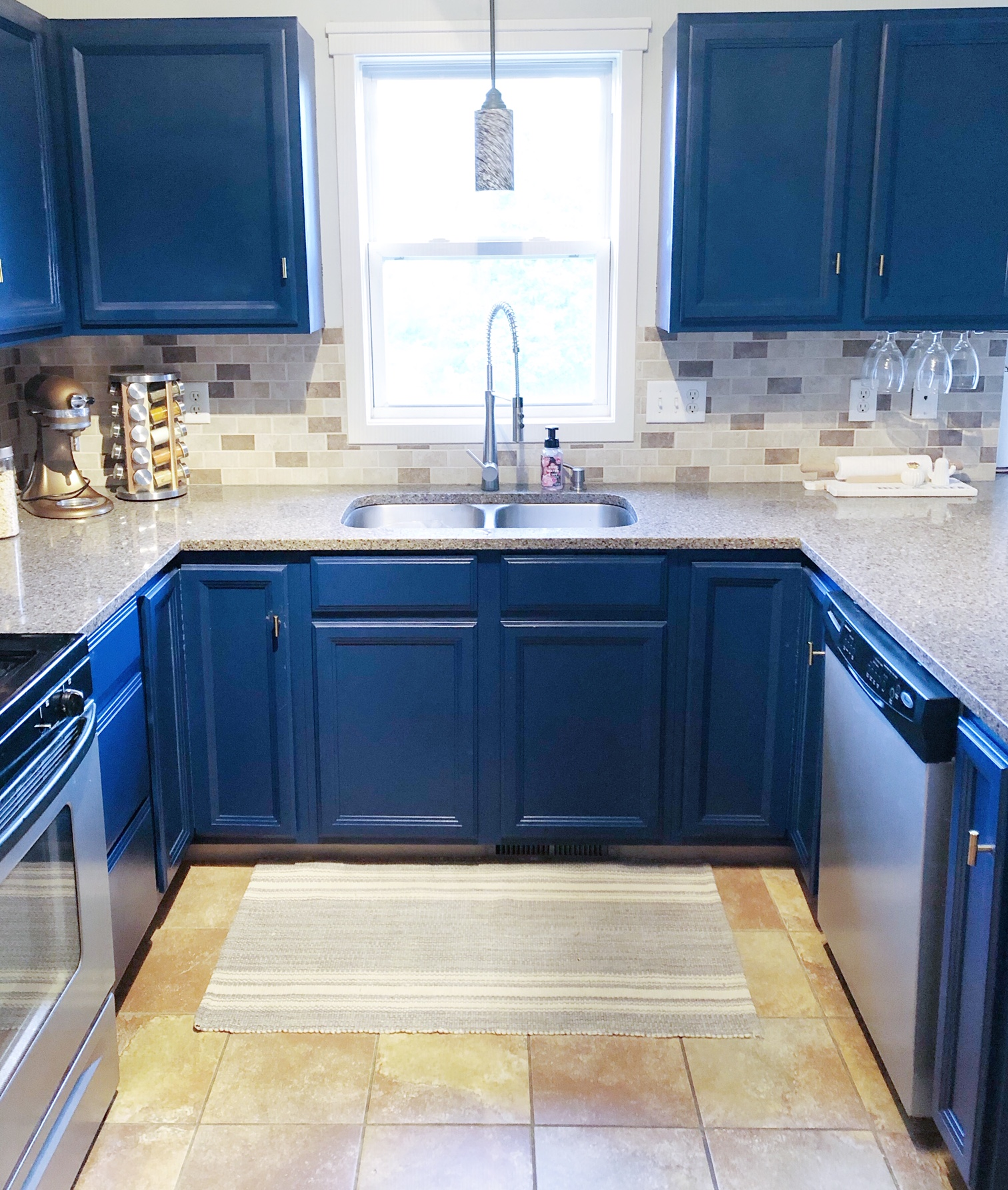 Painting Your Builder Grade Kitchen Cabinets   Renovating ...